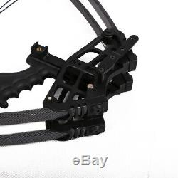 50lb. Archery Triangle Compound Bow Right Left Hand Men Hunting Target 270fps