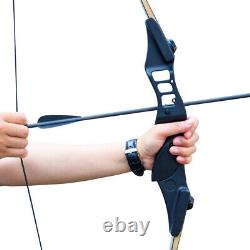 50lb Takedown Recurve Bow Archery Set Adult Right Hand Hunting Target UK STOCK