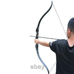 50lbs Archery 56Recurve Takedown Bows Set Hunting Target Outdoor Practice sport