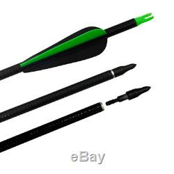 50lbs Archery Hunting Takedown Recurve Bow and Arrows Fishting Right Hand Set