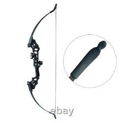 50lbs Takedown Recurve Bow Set Archery 51 Longbow Hunting Kit Adult Right Hand