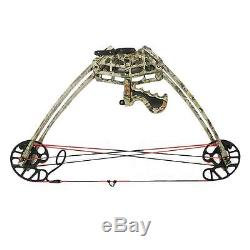 50lbs Triangle Compound Bow Right Hand Archery Hunting Target Shooting 270fps