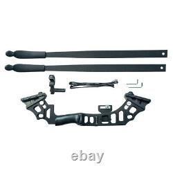 51 Archery 30-50lb Longbow Takedown Recurve Bow Kit Right Hand Hunting Set