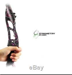56 Takedown Recurve Bow Archery Right Hand Shooting Hunting Longbow 30-50lbs
