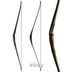 58 Archery Triangle Traditional Longbow 20-40lbs Right Hand Hunting for Youth