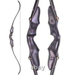 58 ILF Recurve Bow Wooden 15 Riser Takedown Archery American Hunting BowTarget