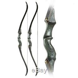 60 Archery 45LBS Takedown Recurve Bow Kit 12x Hunting Arrows RH Adult UK Stock