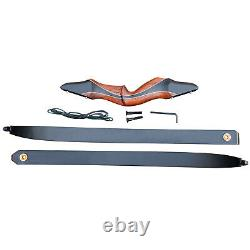 60'' Archery Takedown Recurve Bow Set Arrows Right Hand Hunting Target 30-50lb