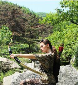 60 ILF Archery Recurve Bow 30-60lbs American Hunting 17'' Bow Riser Aluminum