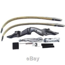 60 ILF Archery Recurve Bow Takedown American Hunting Bow 17 Handle 30-65LBS