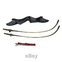 60 ILF Archery Recurve Bow Wooden American Hunting Bow Takedown 30-60lbs