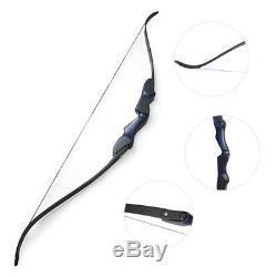 60 ILF Archery Takedown American Hunting Bow Wooden Recurve Bow Limbs Riser