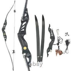 60 ILF Longbow Recurve Bow 17 Riser Foam Core Limbs Archery American Hunting