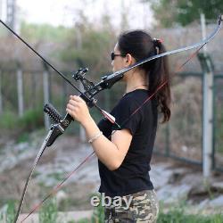 60 ILF Recurve Bow American Hunting Bow 17 Riser Archery Shooting 20-50lbs