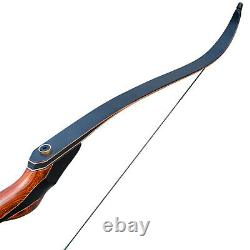 60 Takedown Recurve Bow Limb String Wooden Riser Right Hand Archery Hunting