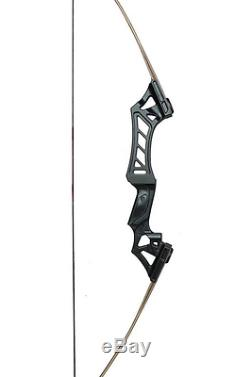 60in. Archery Recurve Right Bows Hunting 30 35 40 45 50 55 60 65 70 Lbs Sport