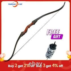 60inch Hunting Bow Archery Recurve Takedown Bow& arrows Longbow for Right Handed