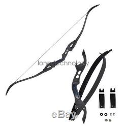 62 American Hunting Archery Recurve Bow With ILF Takedown Maple Core Limbs