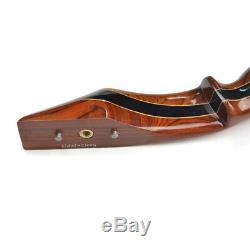 62 Archery Longbow American Hunting Bow Takedown Recurve Bow 25-55lbs