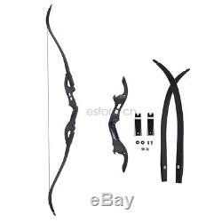 62 ILF Takedown Recurve Bow Archery Right Hand 20-50lbs For Shoot Hunting
