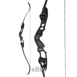 63 ILF Archery Recurve Bow American Hunting Bow Shooting IBO 210FPS 30-55lbs