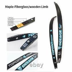 68 ILF Recurve Bow 18-44lbs Takedown 25 Bow Riser Archery Shooting Hunting