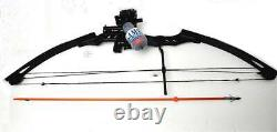 AMS Reel Batman Bow Marlowe Design Atelier with RED Laser Fishing Arrow & Barb