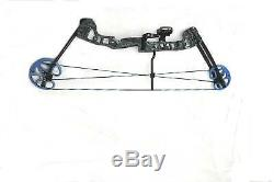 AMS Reel with Fishing Arrow on H2O Barnett Compound Fishing Bow