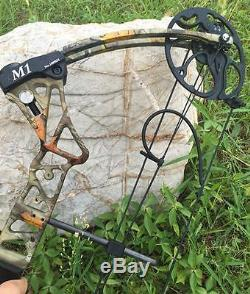 Adjustable 20-70lbs Compound Bow Right Hand Hunting Kits With Sight Quiver Rest