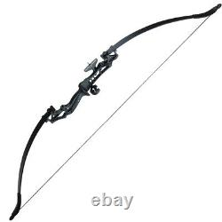 Adult Archery Takedown Hunting Recurve Bow with Arrows Quiver, Sight, Arrow Rest