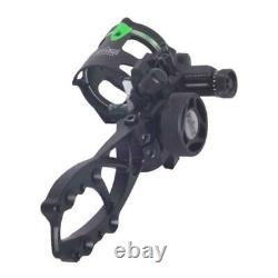 Alloy Archery Bow Sight Single Pin Right Handed Single Needle Sight Hunting