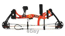 Apprentice III BEAR OrangeComound Bow. RH with Arrow