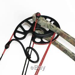 Archery 50lb Triangle Compound Bow Left & Right Hand Men Hunting Target Shooting