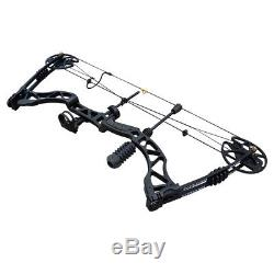 Archery Compound Bow 35-70lbs Right Hand Target Outdoor Black Hunting Outdoo