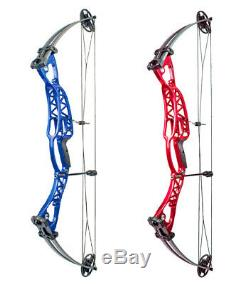 Archery Compound Bow Adjustable Bow Arrow Hunting Shooting Right Left Hand