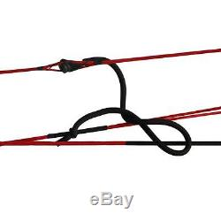 Archery Compound Bow Black Right Hand Hunting Kit Adult 35-70Lbs Pro Shooting