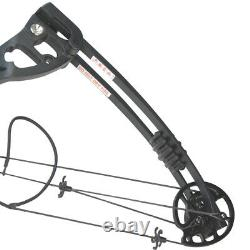 Archery Compound Bow Carbon Arrows Sight 30-55lbs Target Field 310FPS Hunting UK
