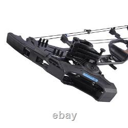 Archery Compound Bow Set 21.5-80lbs Steel Ball Dual Purpose Arrow Hunting 330fps