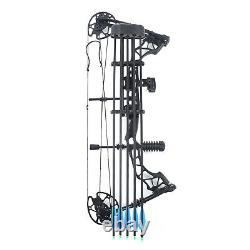 Archery Compound Bow Set 35-70lbs Adult Hunting 12 Arrows Right Hand Target