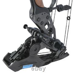 Archery Compound Bow Steel Ball 21.5lbs-60lbs Dual Purpose Arrows Hunting Kit
