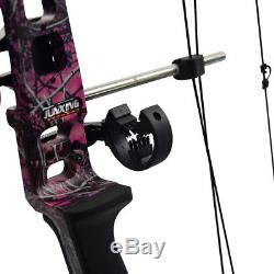 Archery Compound Bows 20-70LBS Left/Right Hand Hunting Bow Sight/Arrow Rest Kit