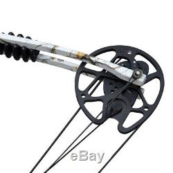 Archery Compound Bows 35-70LBS Right Hand Hunting Bow Package Arrows Points Sets