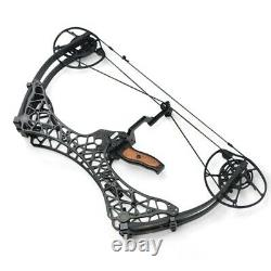 Archery Dual-use Compound Bow Slingshot Fishing Catapult Bow Shooting Hunting