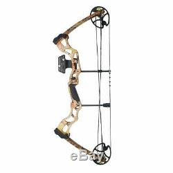 Archery Hunting Adult Camo Compound Bow & Arrows Powerful (ULTIMATE PACKAGE)