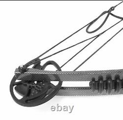 Archery Hunting Right Hand Equipment Compound Bow 30-55 Lbs 24 to 29.5 inch