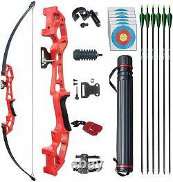 Archery Set Adult Takedown Recurve Bow Arrow Set Hunting Target Practice Longbow