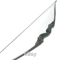 Archery Takedown Recurve Bow Adult Hunting Wood Longbow 60,40lb Target Practice
