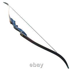 Archery Takedown Recurve Bow Set Arrow Hunting Right Hand Target Bow 30-50LBS