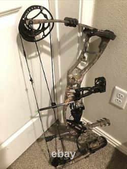 BEST! Hoyt Powermax Compound Camo Bow Hunting Archery RH like Matthews Bear