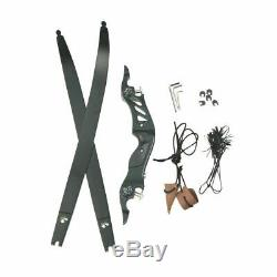 BOSEN HORN Archery 20-55lbs ILF 60 Longbow Takedown Hunting Bow Foam Core Limbs